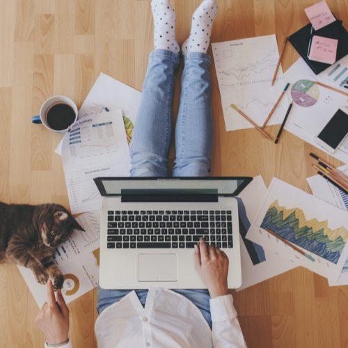 Improve your mental well-being when working from home